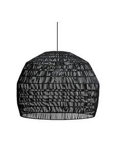 Ay Illuminate Lámpara de ratán negro - Nama3 - Ø72cm - Ay Illuminate