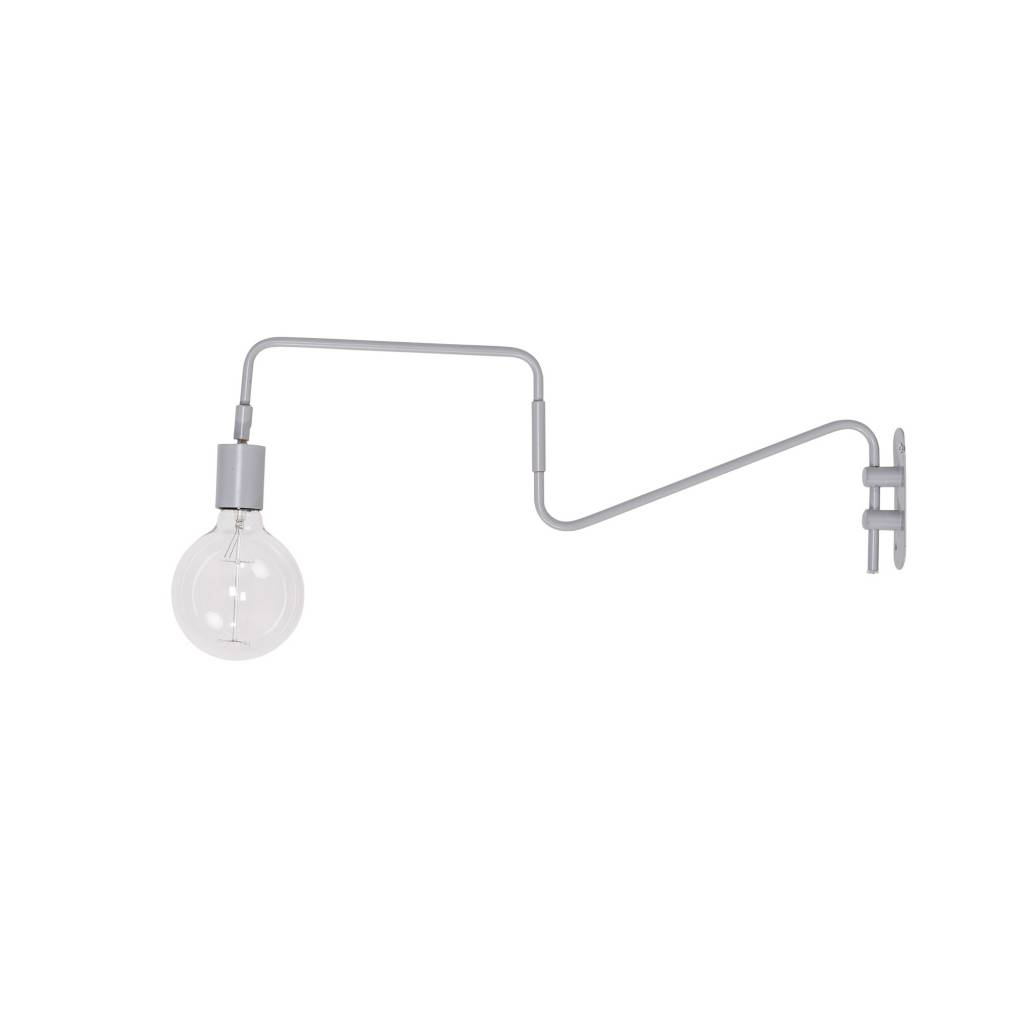 Bloomingville wall lamp - grey - 80xh30cm - Bloomingville