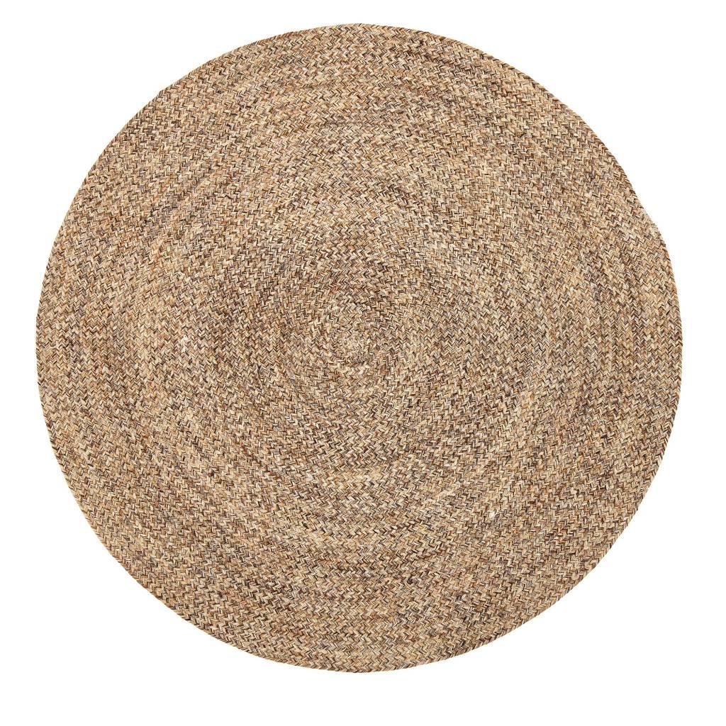 Bloomingville Round rug wool - natural - Ø120cm - Bloomingville