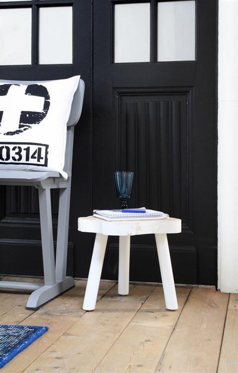 HK Living Table Basse Arbre - 33cm - bois noir - HK Living