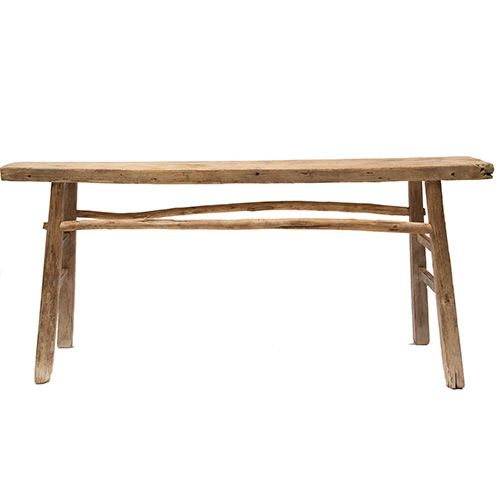 Petite Lily Interiors Consola Vintage - Madera de Olmo - 140cm - Bloomingville