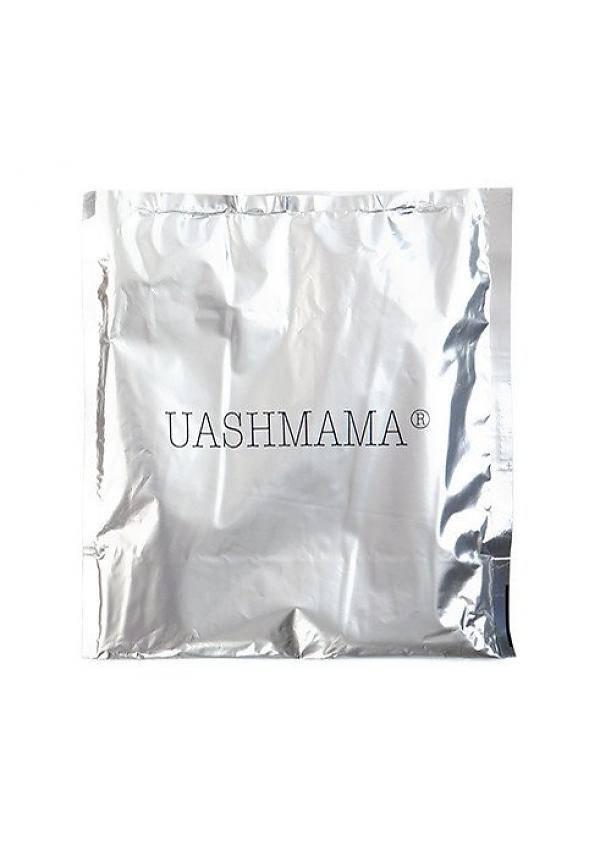 Uashmama Sac en papier Bouteille de vin Chianti avec Cooler - noir  - Uashmama