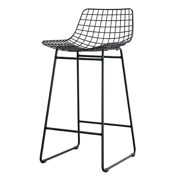 HK Living Tabouret de bar \'Wire\' Scandinave - noir - HK Living ...