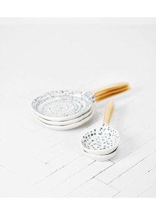 Urban Nature Culture - UNC Spoon Kuba art M - Ø16cm - Porcelain - UNC
