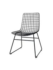 HK Living Chaise Wire - Scandinave métal noir - HK Living