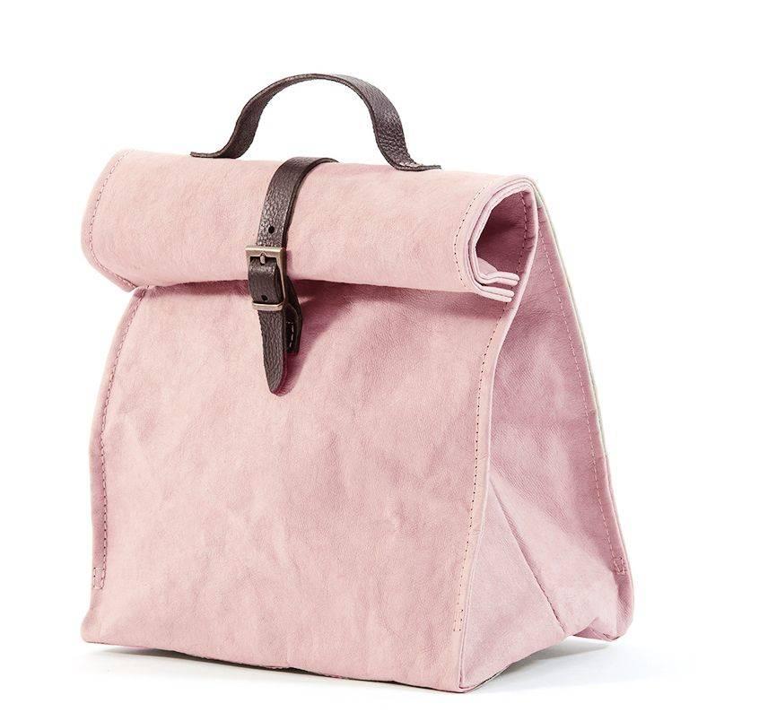 Uashmama Washable Paper Lunch Bag / Doggybag - Quarzo Rosa - Uashmama