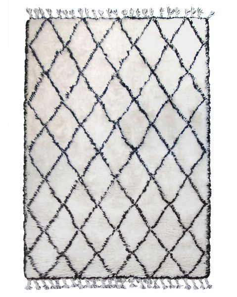 HK Living Alfombra Bereber - Blanca - 180x280 cm - HK Living