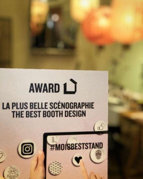 Félicitations à HK LIVING pour avoir gagné la récompense du 'meilleur stand Design' au salon Maison&Objets 2018!