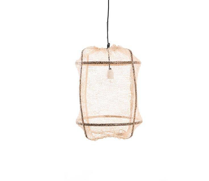 Ay Illuminate Suspension Z5 en Bambou et tea Sisal - Ø 42 cm - marron - Ay Illuminate