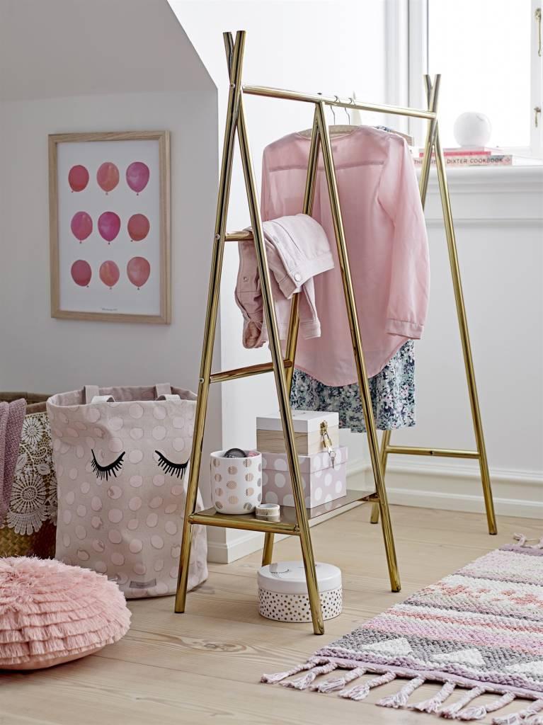 Bloomingville Cushion round pink - Ø40cm - 100% cotton - Bloomingville
