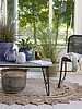 Bloomingville Outdoor coffee table concrete - grey / negro - L90xH42xW60 - Bloomingville