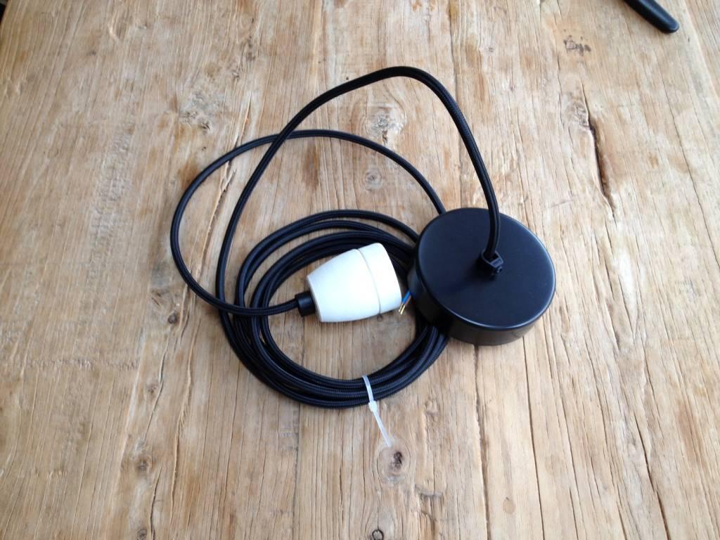 Ay Illuminate Suspension Z1 RUC en bambou et coton - gris - Ø 67cm x H100cm - Ay Illuminate