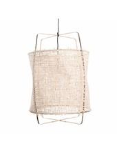 Ay Illuminate Suspension Z1 en bambou et papier naturel - Ø 67cm x H100cm - Ay Illuminate
