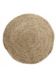 TineKHome Round rug jute hemp - natural - Ø300cm - Tine k Home