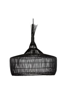 Dareels Lámpara de techo en rattan - Ø57x50cm - Dareels