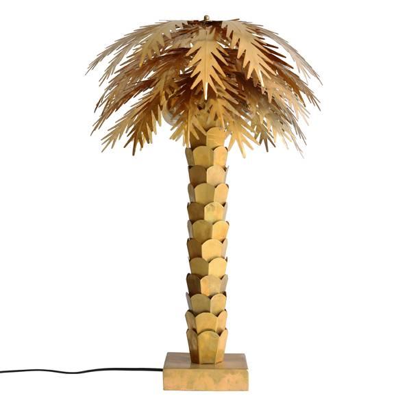 HK Living Table lamp Palm Tree Brass - Ø45x68cm - HK Living