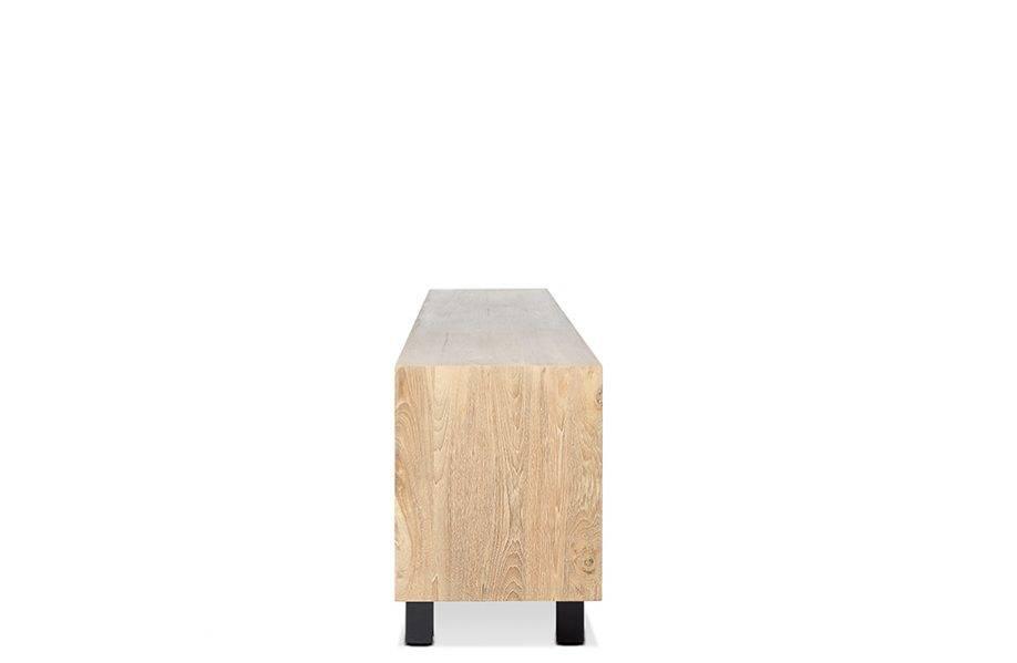 Dareels Aparador LOX - teca natural y hierro  - 257x45xh74cm - Dareels