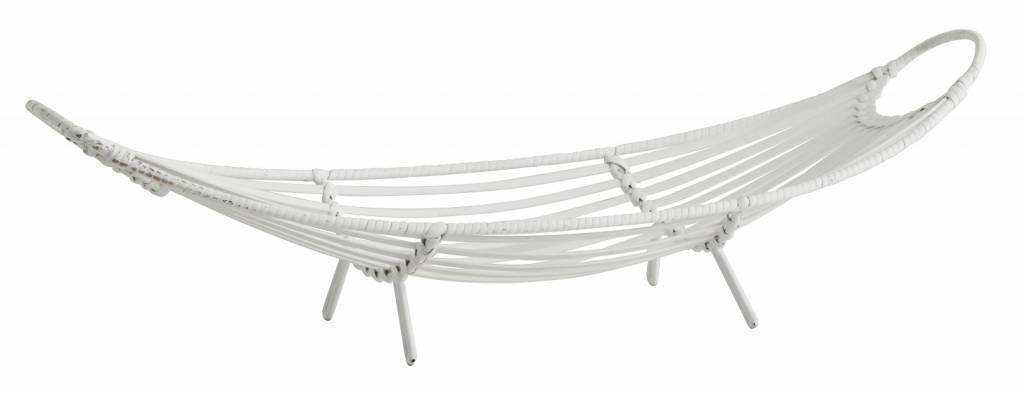 Nordal Bandeja de Bambú - 65x21xh17cm - blanco - Nordal