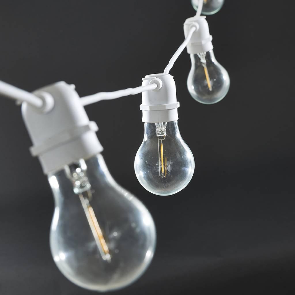 House Doctor Chaîne de lumières 'Function' - intérieure et extérieure - 8.4m - blanc - House Doctor