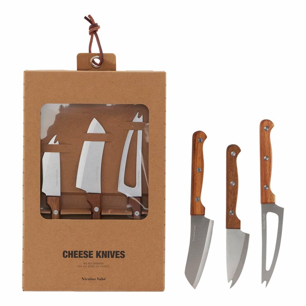 juego de 3 cuchillos de queso  - Nicolas Vahé