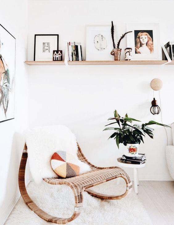 Créez un coin lecture cosy oú vous pourrez déconnecter d'une semaine chargée. vu sur Instagram