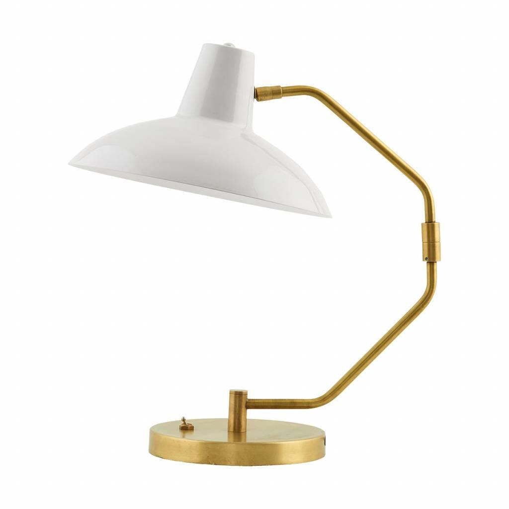 House Doctor Lampe de table, Desk, gris mat, Ø31xh48cm - House Doctor