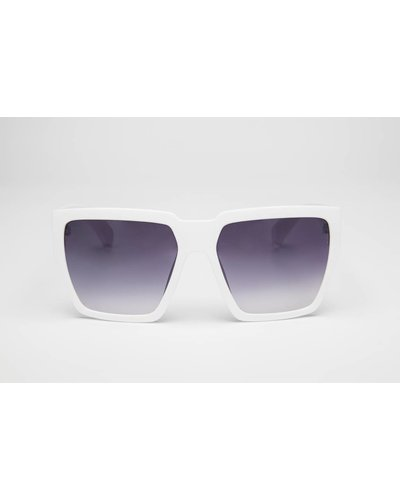 GADGERS SQUARED White/Purple Fade