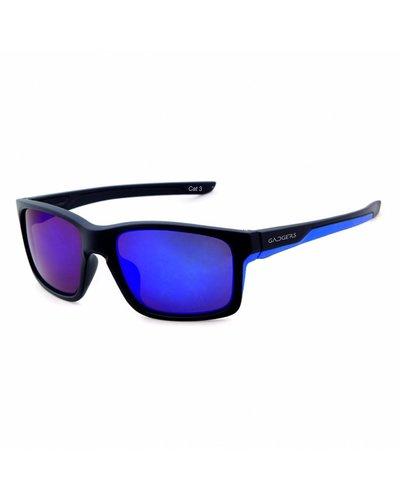 GADGERS SPICY Black Blue/Blue Mirror