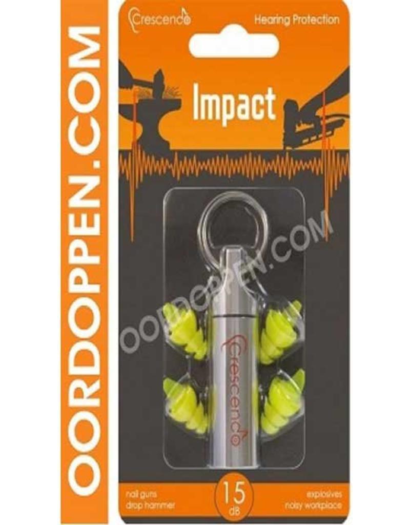 Crescendo Oordoppen impact