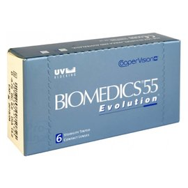 Coopervision Biomedics 55 Evolution 6-pack