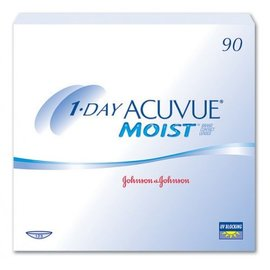 Johnson & Johnson 1 Day Acuvue Moist 90-pack