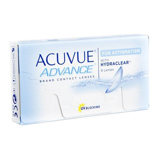Johnson & Johnson Acuvue Advance para Astigmatismo 6-pack