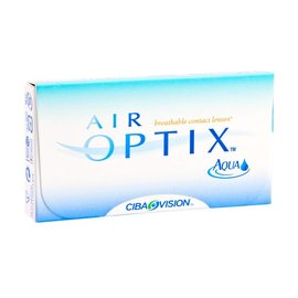 Alcon / Ciba Vision Air Optix Aqua 3-pack