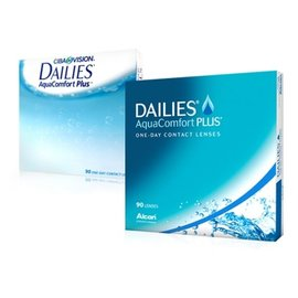 Alcon / Ciba Vision Dailies Aqua Comfort Plus 90-pack