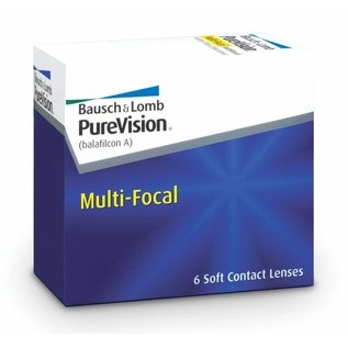 Bausch & Lomb PureVision Multifocal 6-pack
