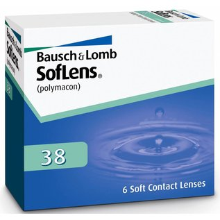Bausch & Lomb Soflens 38 6-pack