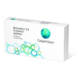 Coopervision Biomedics 55 Evolution 6-pack