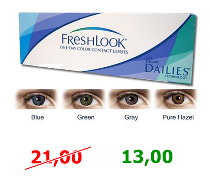 freshlook lentillas de color