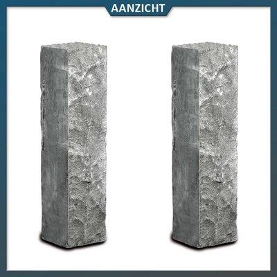 Palissade Chinees Hardsteen 12x12x50 cm