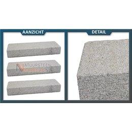 Traptrede Graniet Geel 100x35x15 cm