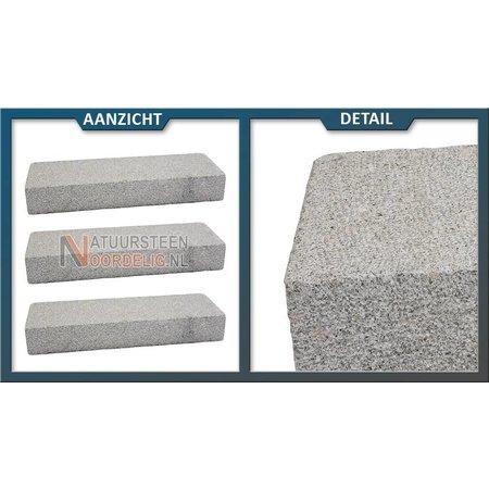 Traptrede Graniet Geel gebouchardeerd 100x35x15 cm