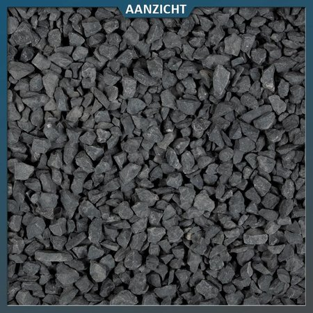 Ardenner split donkergrijs 10-14 mm