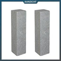 Palissade Graniet Antra Gebouchardeerd/gevlamd