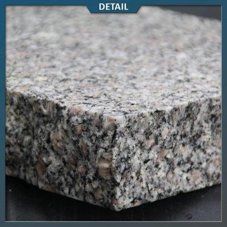Graniet Tegel Grijs Gebouchardeerd