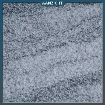 Nordic Blue Gebouchardeerd/Geborsteld 60 x 60 x 3 centimeter