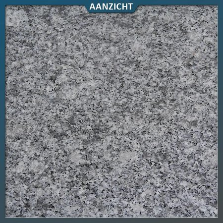Graniet Tegel Lichtgrijs Gevlamd