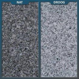 Graniet Tegel Lichtgrijs Gevlamd/geborsteld