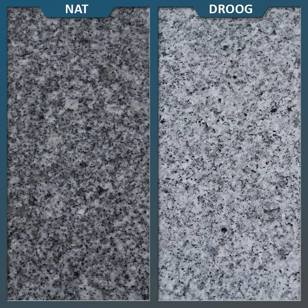 Graniet Tegels Tuin.Graniet Tuintegel G603 Lichtgrijs Gevlamd En Geborsteld