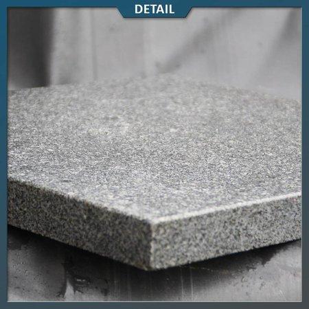 Graniet tuintegel G654 Antra Gevlamd/geborsteld