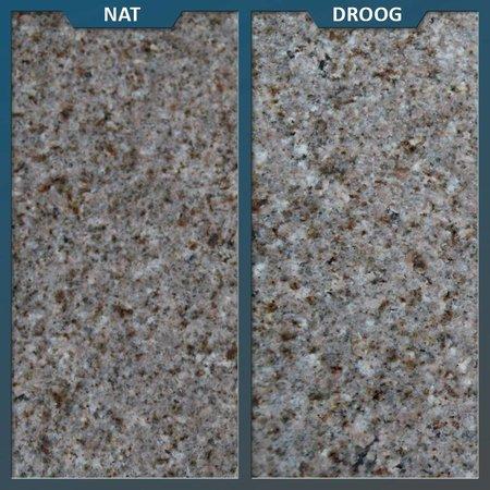 Graniet Tegel Geel Gevlamd/geborsteld